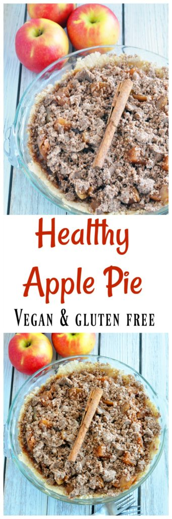 Healthy Vegan Apple Pie