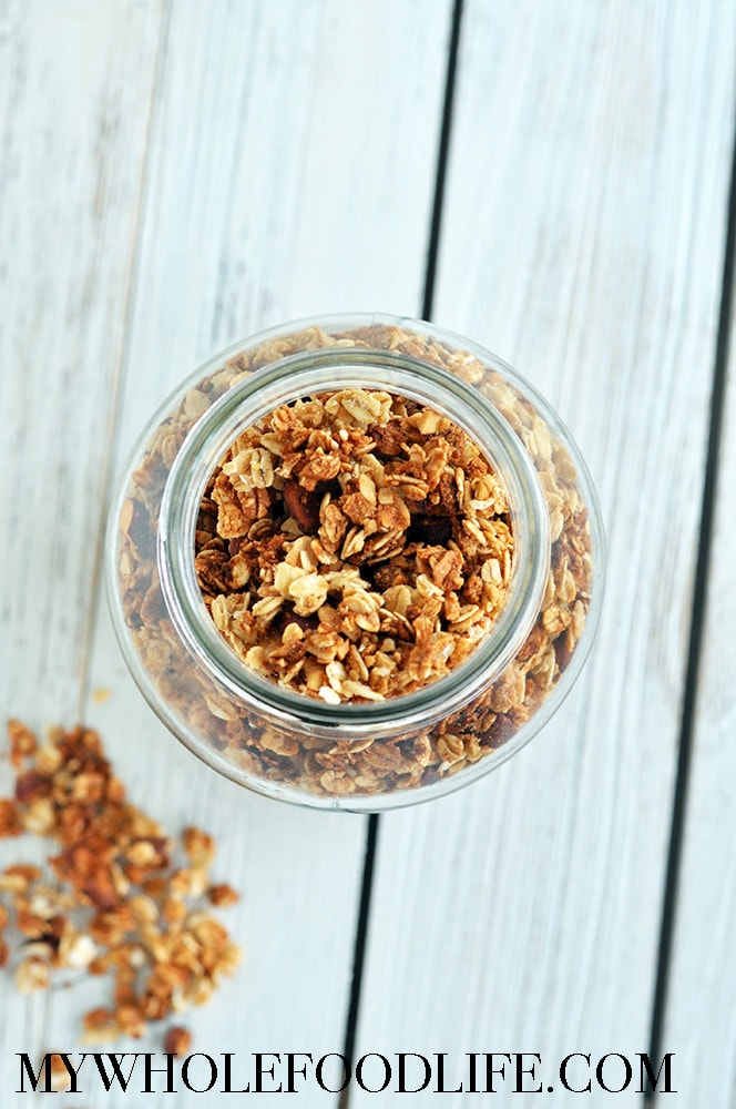 Maple Vanilla Almond Granola