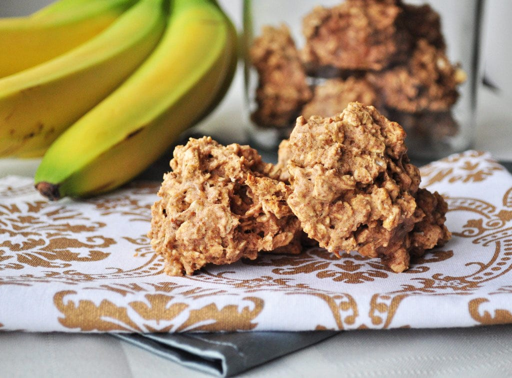 Peanut Butter Banana Breakfast Cookies