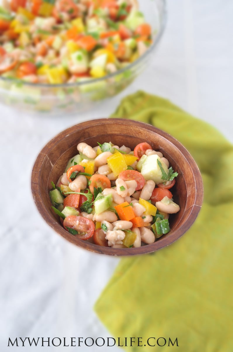 White Bean Salad - My Whole Food Life
