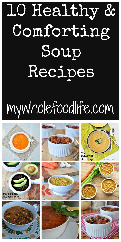 10 Healthy Soup Recipes