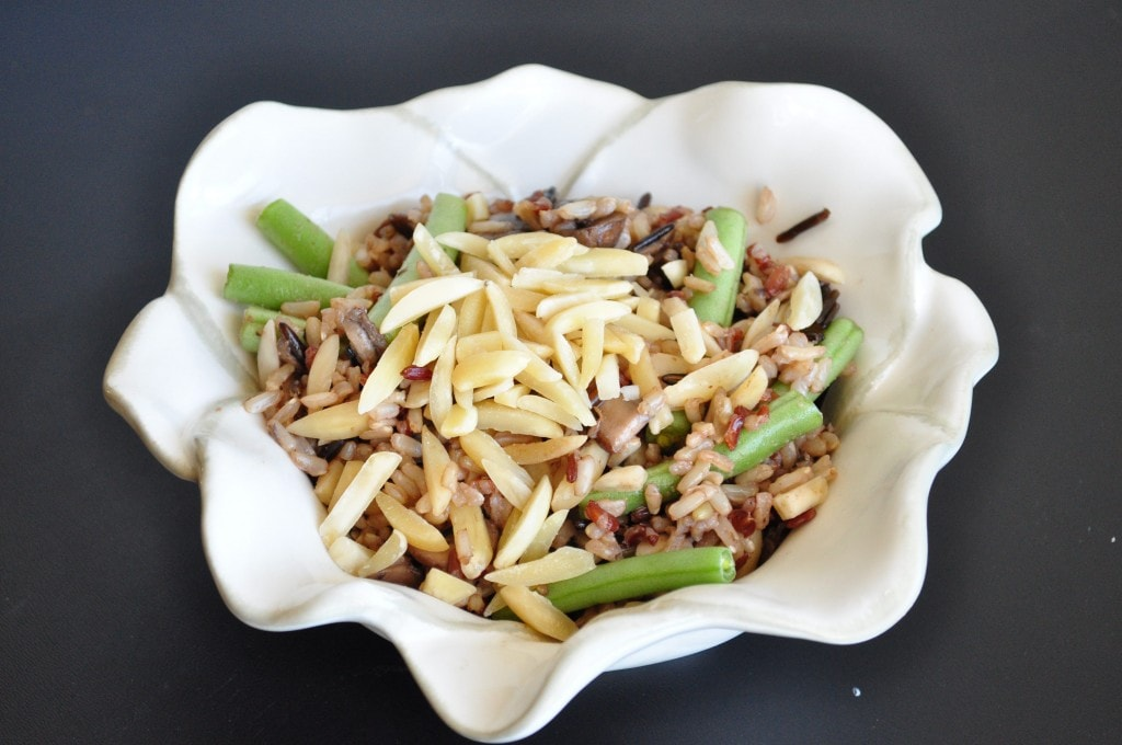 Wild Rice and Mushroom Salad