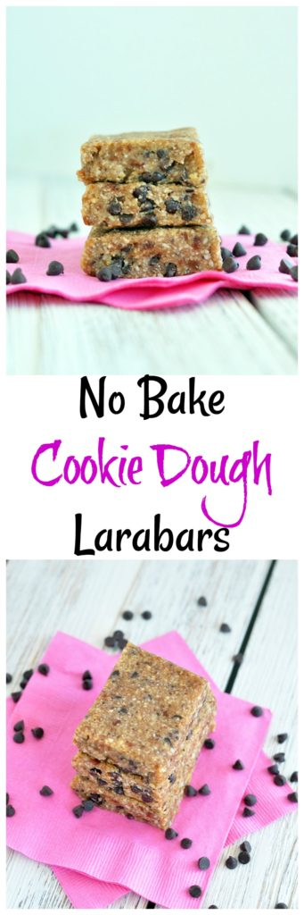 Chocolate Chip Cookie Dough Larabars