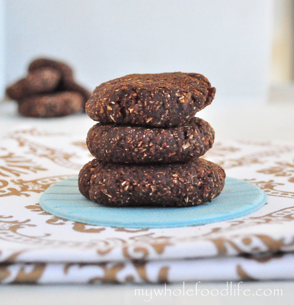 Chocolate Mint Cookie Dough Bites - My Whole Food Life
