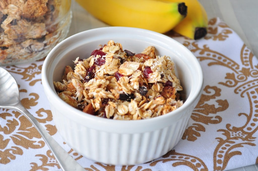 Cranberry-Coconut-Granola