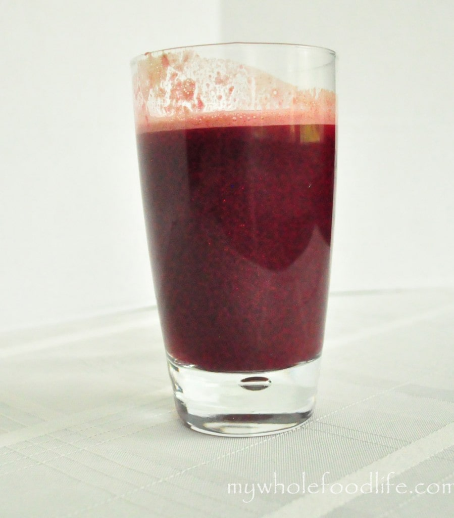 cleansing red juice