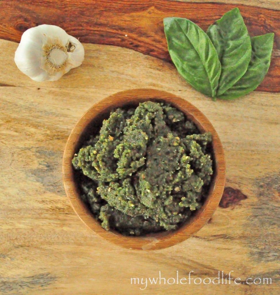 dairy free spinach pesto