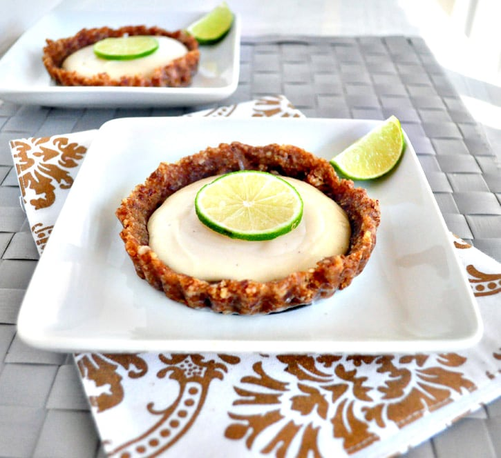 Healthy Key Lime Tarts