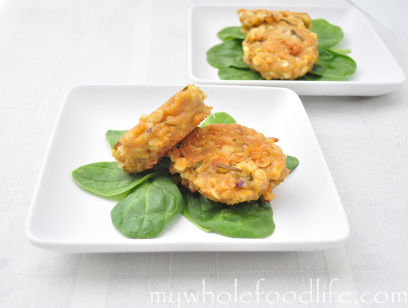 healthier corn fritters