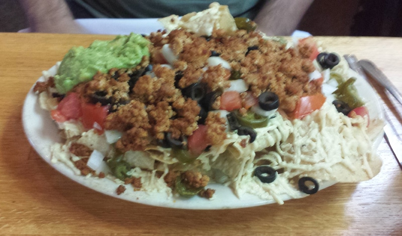 nachos at mothers