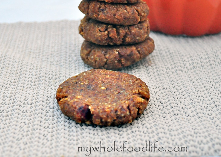 Pumpkin No Bake Cookies watermark