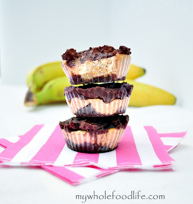 Chocolate Almond Banana Bites