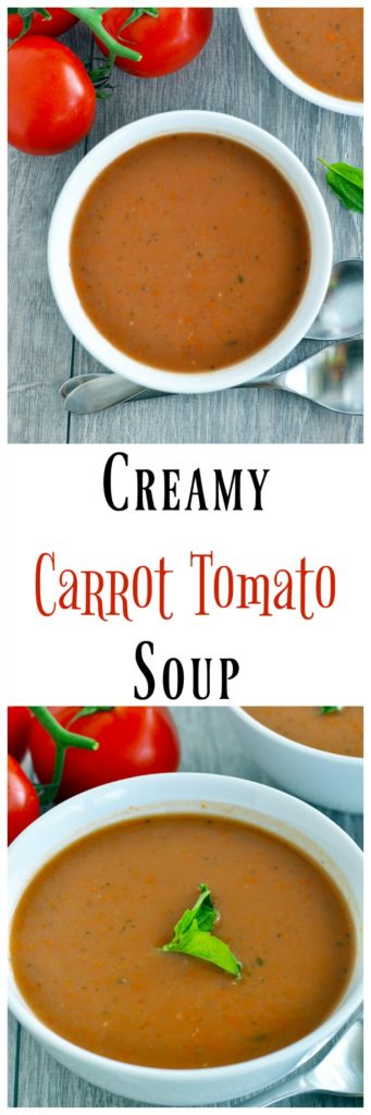 Creamy Carrot and Tomato Soup