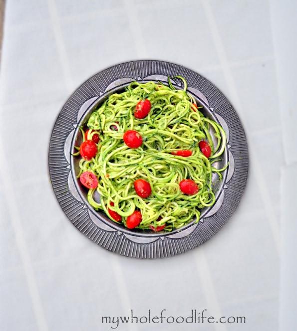 Zucchini Pesto Pasta