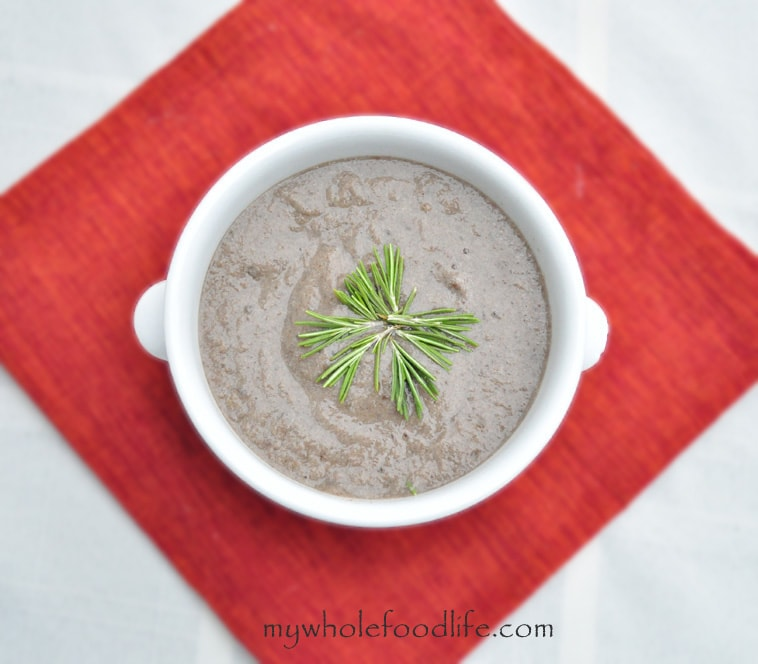 Cream of Mushroom Soup - My Whole Food Life
