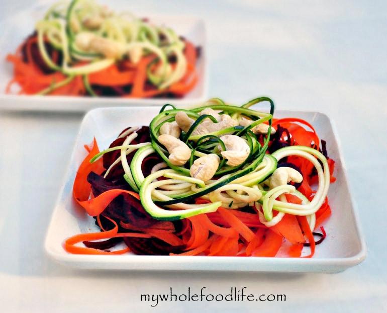 Detox Rainbow Salad - My Whole Food Life