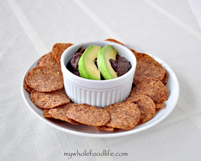 Easy Black Bean Dip - My Whole Food Life
