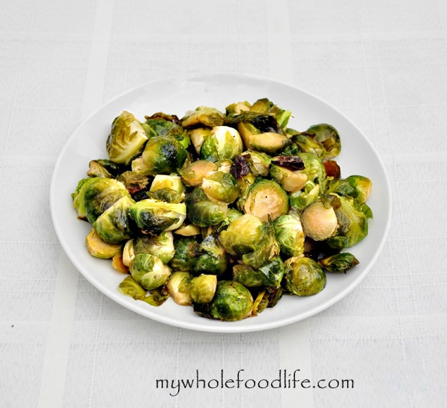 Maple Glazed Brussel Sprouts - My Whole Food Life