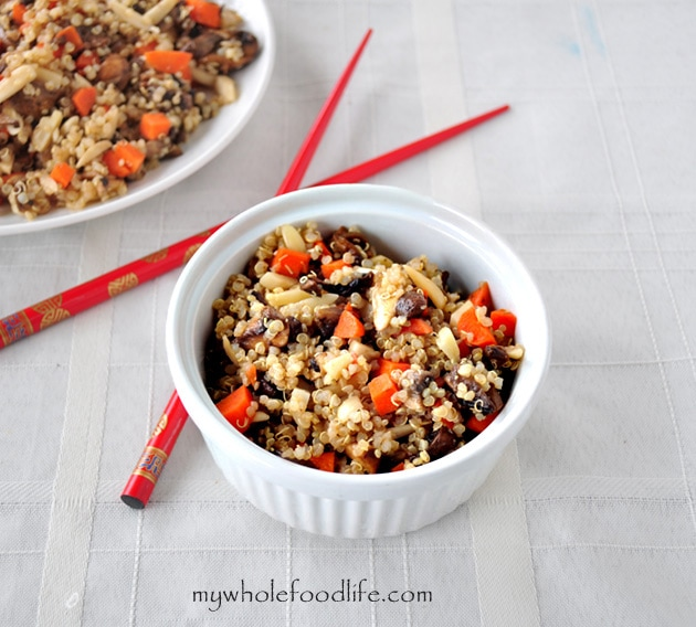 Easy Quinoa Stir Fry - My Whole Food Life