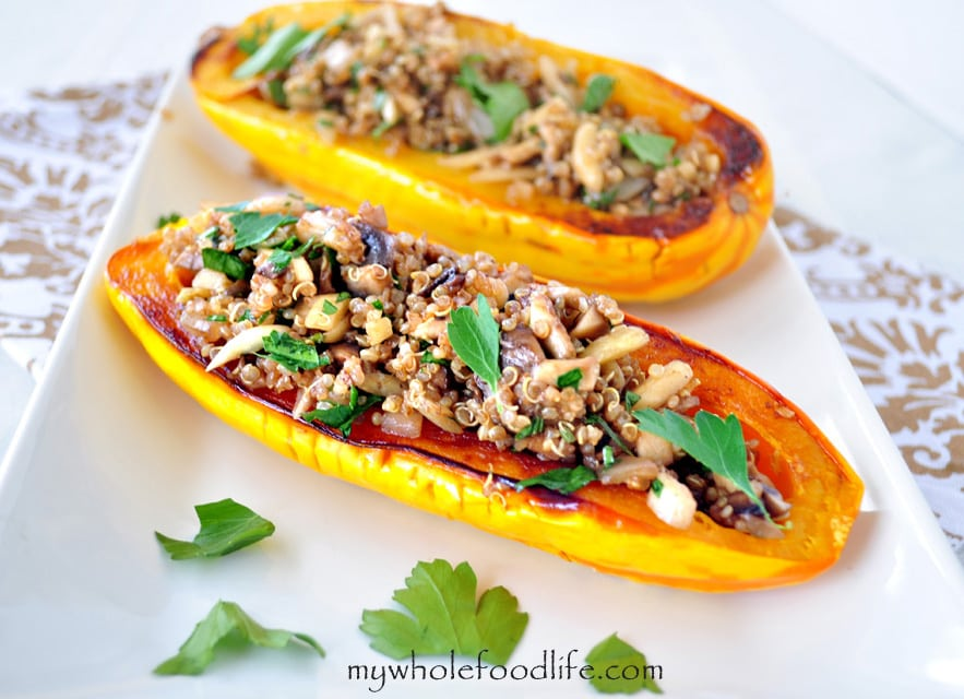 Stuffed Delicata Squash - My Whole Food Life