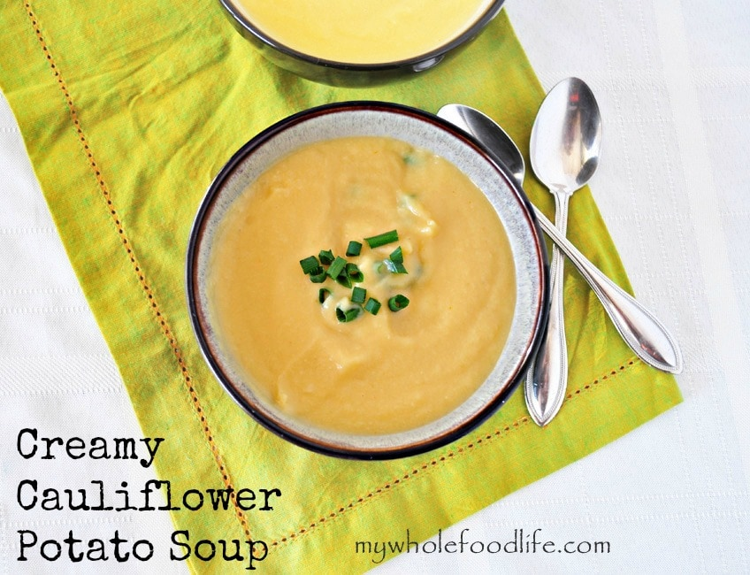 Cauliflower Potato Soup