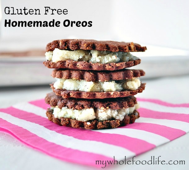 Gluten Free Homemade Oreos - My Whole Food Life 1