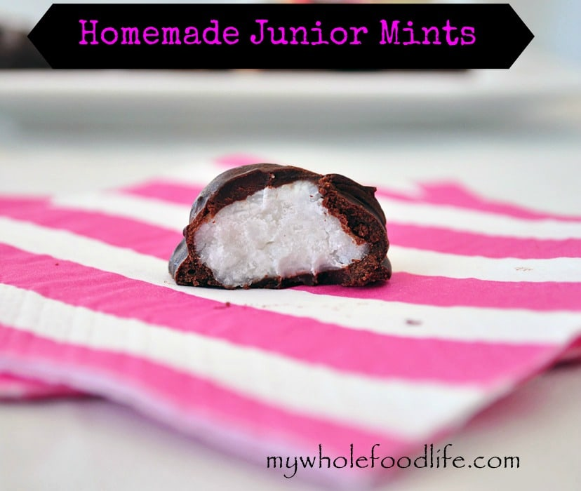 Homemade Junior Mints - My Whole Food Life 1