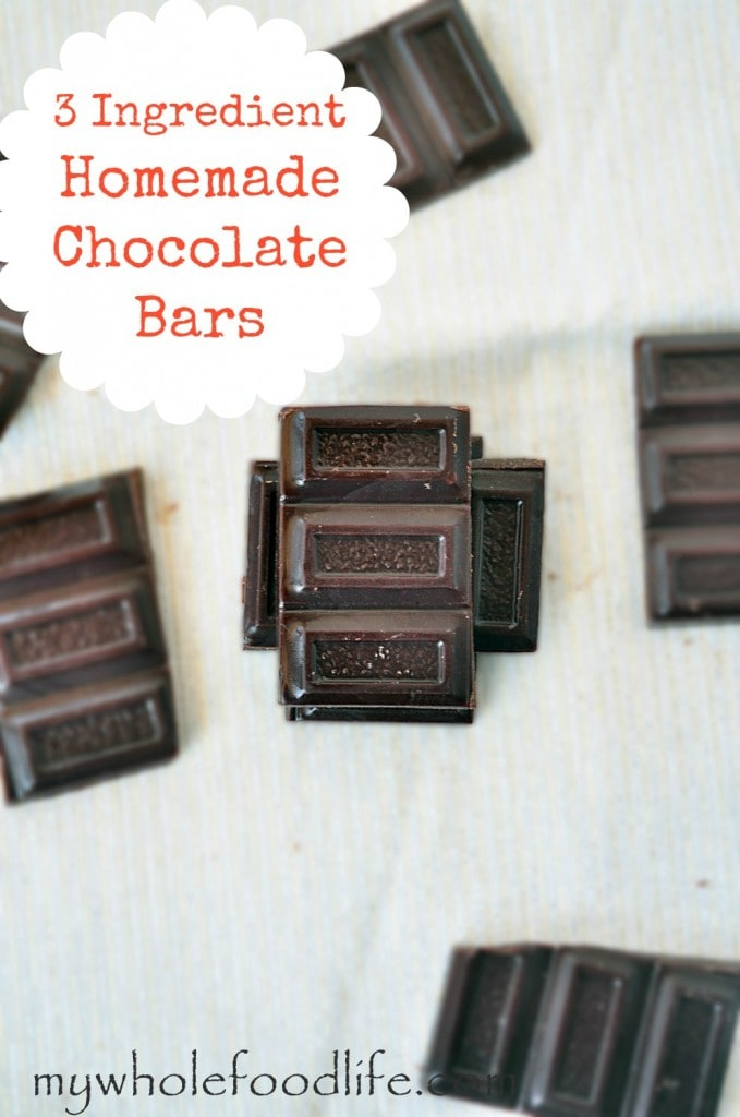 Homemade Chocolate Bars - My Whole Food Life