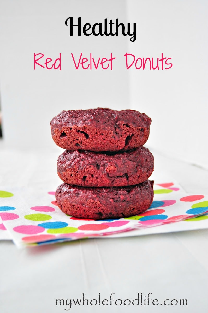 Red Velevet Donuts - My Whole Food Life P
