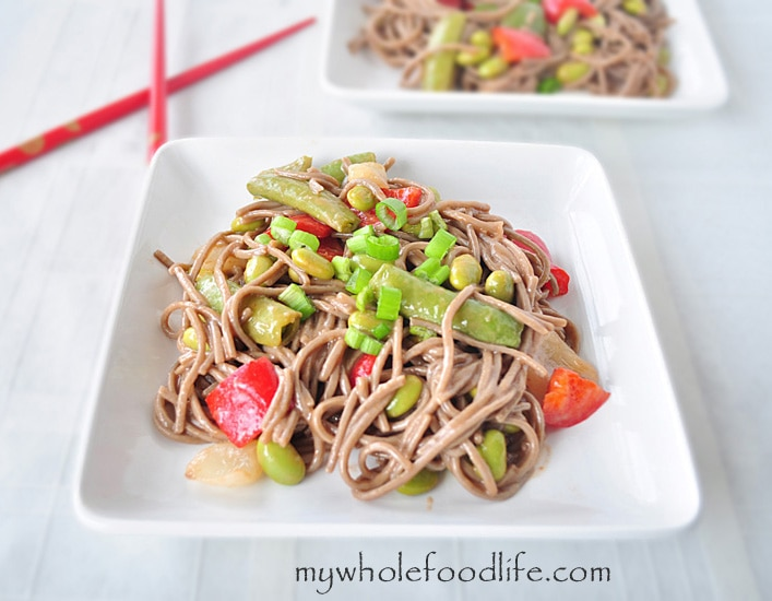 Sweet and Sour Soba Noodles - My Whole Food Life