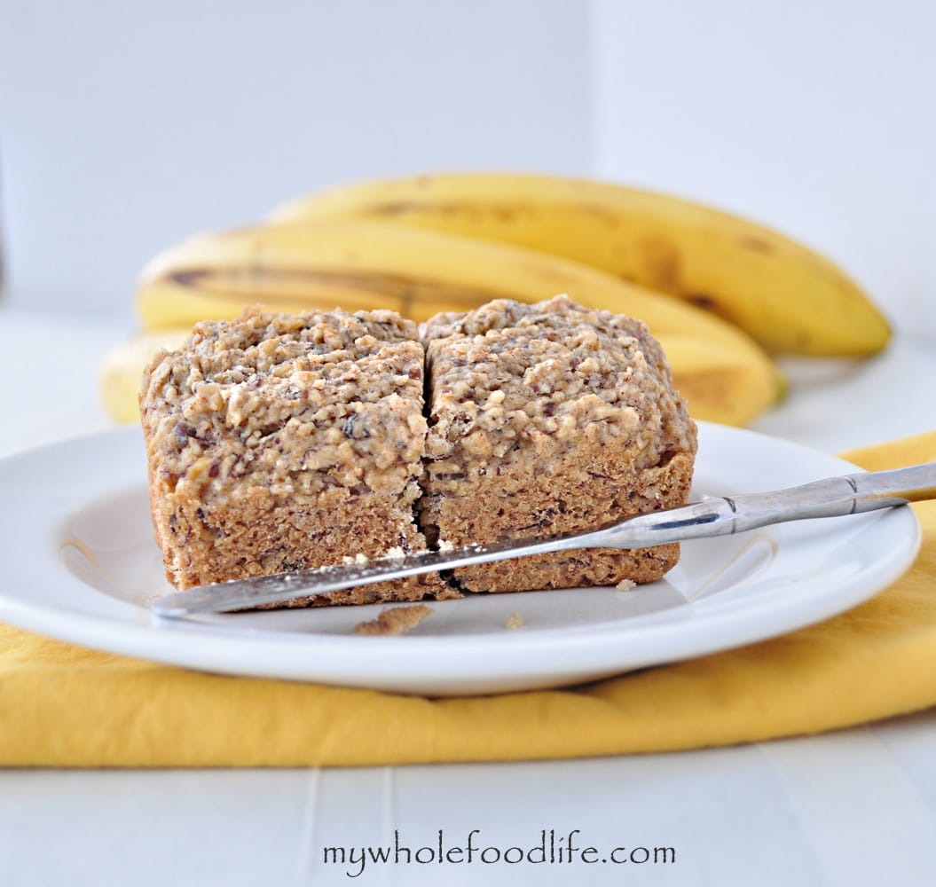 White Chocolate Banana Bread - My Whole Food Life