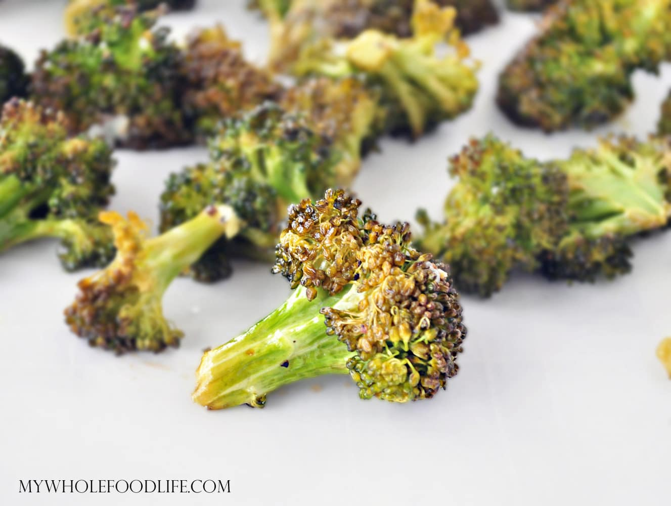 Simple Roasted Broccoli - My Whole Food Life