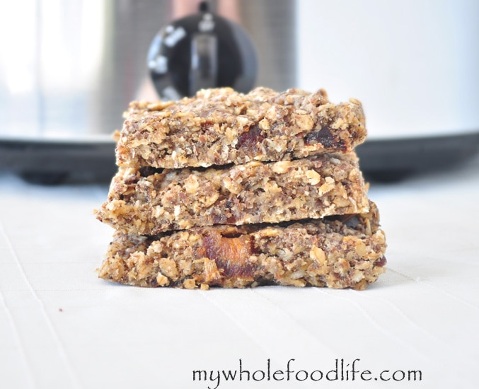 Slow Cooker Coconut Granola Bars - My Whole Food Life