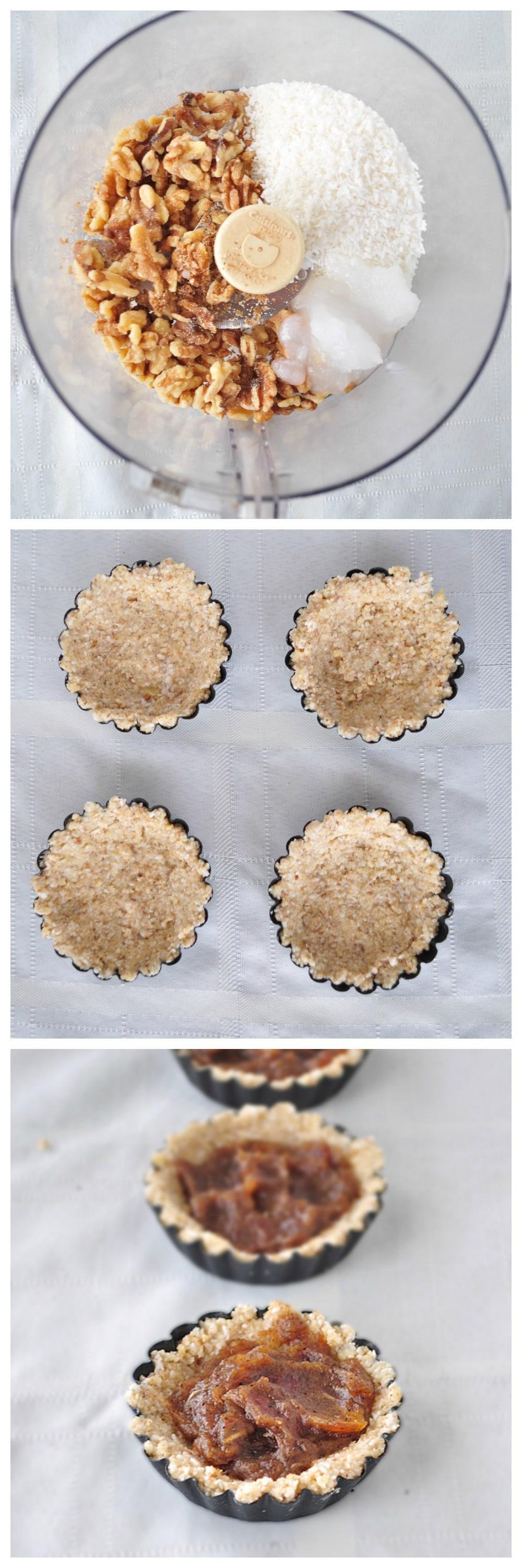 Coconut Caramel Tartlets