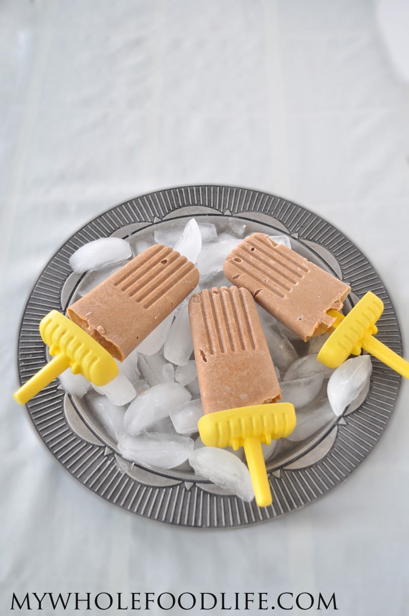 Peach Popsicles - My Whole Food Life