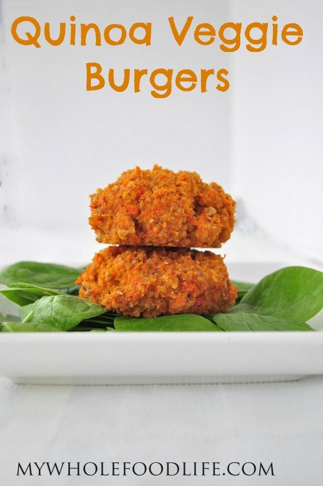 Quinoa Burgers Food Network