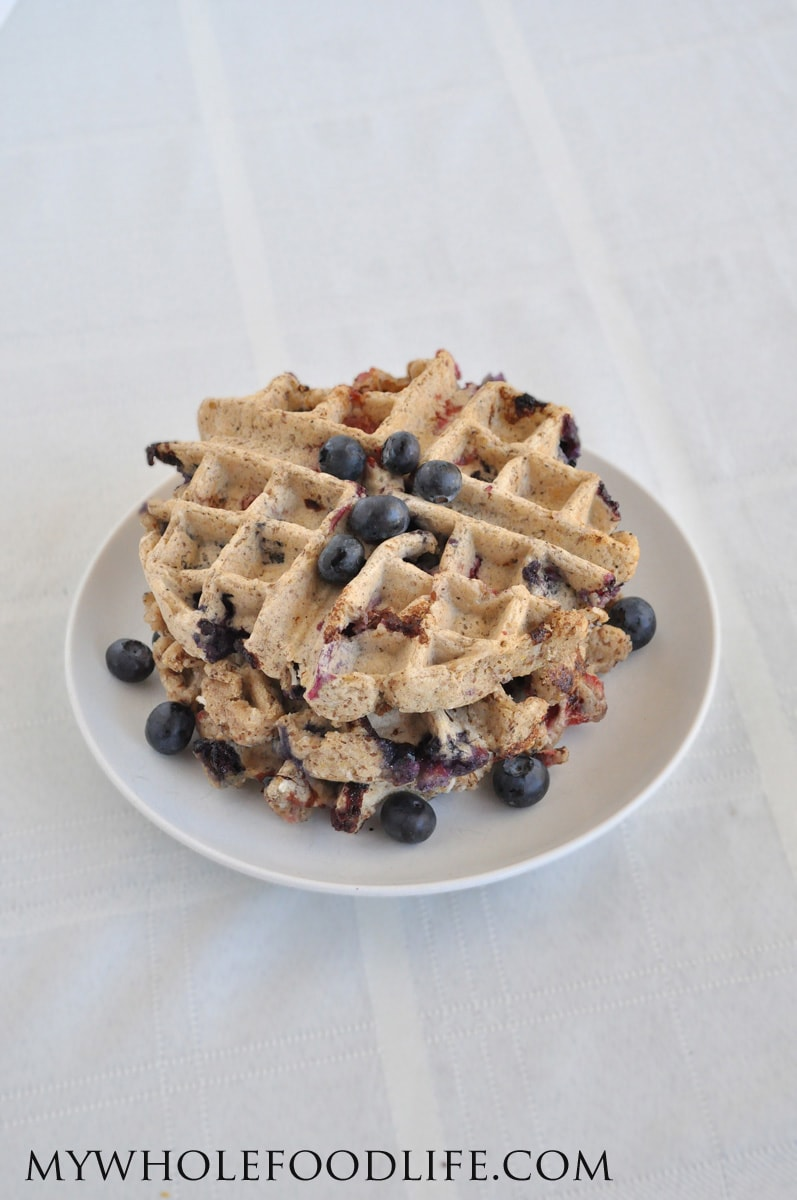 Mixed Berry Waffles - My Whole Food Life