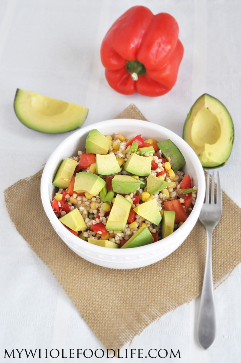 Buckwheat Avocado Summer Salad - My Whole Food Life
