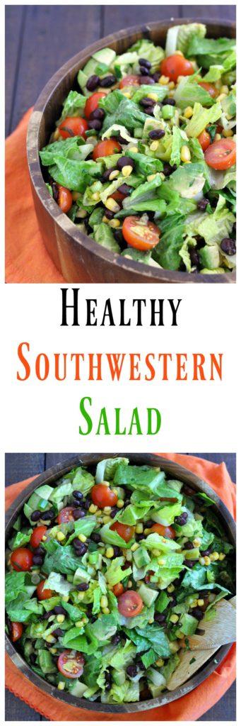 Healthy Southwestern Salad