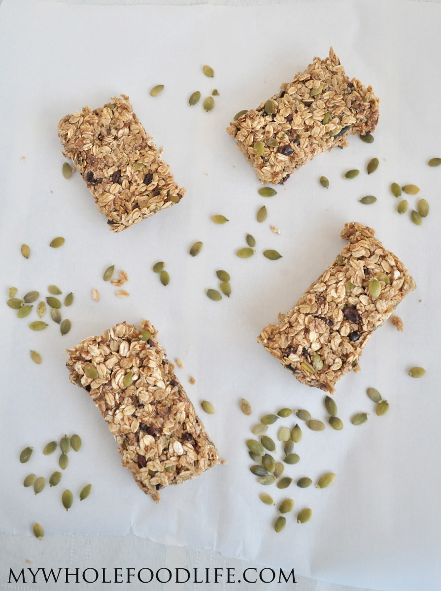 Homemade Granola Bars - My Whole Food Life