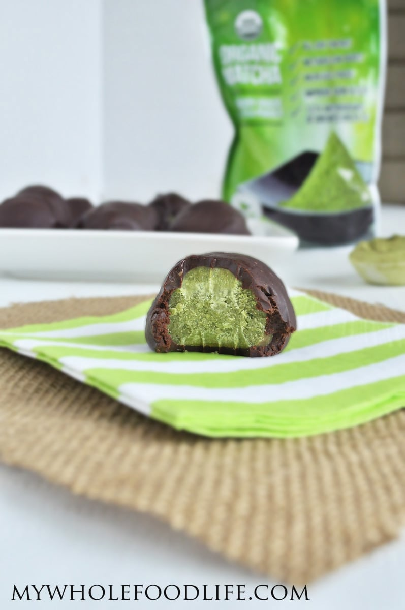 Matcha Truffles - My Whole Food Life