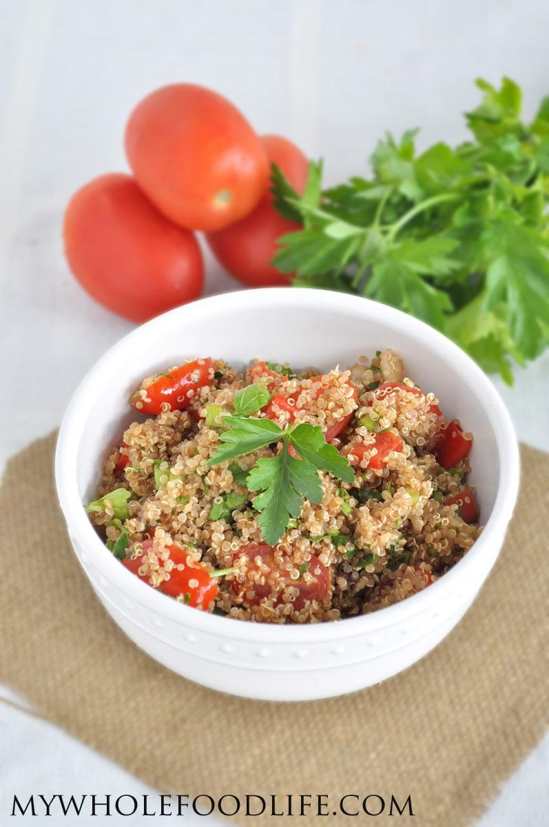 Quinoa Tabouleh Salad - My Whole Food Life