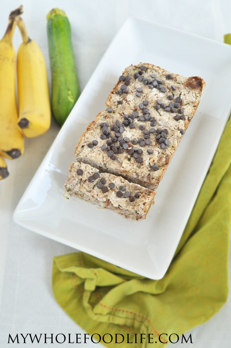 Paleo Banana Zucchini Bread - My Whole Food Life