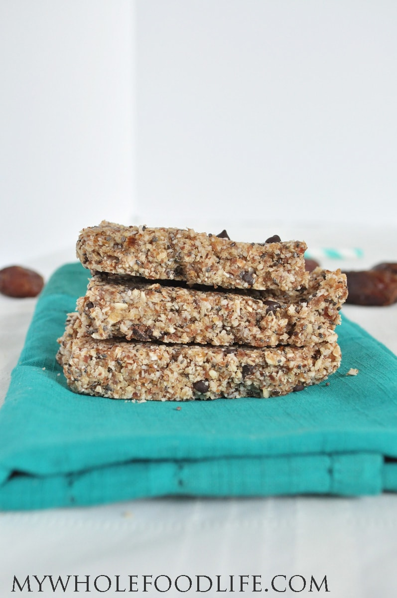Almond Joy Protein Bars - My Whole Food Life