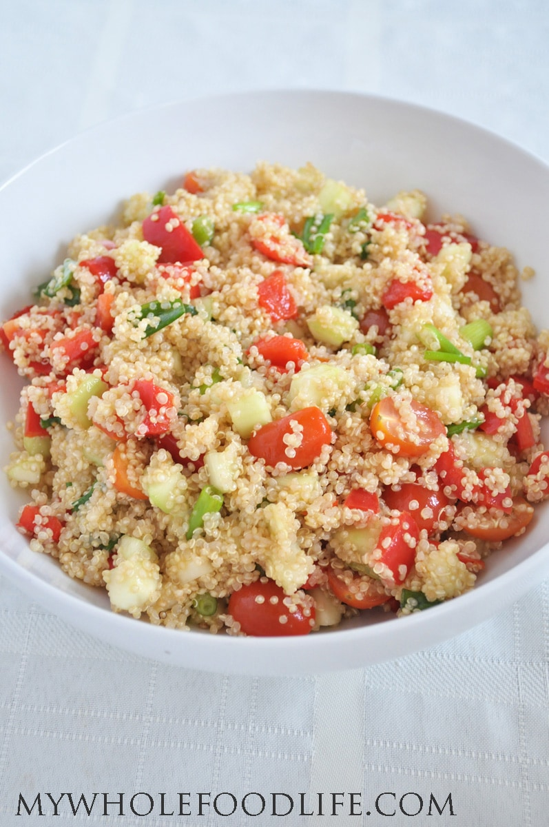 Healthy Quinoa Salad -  My Whole Food Life