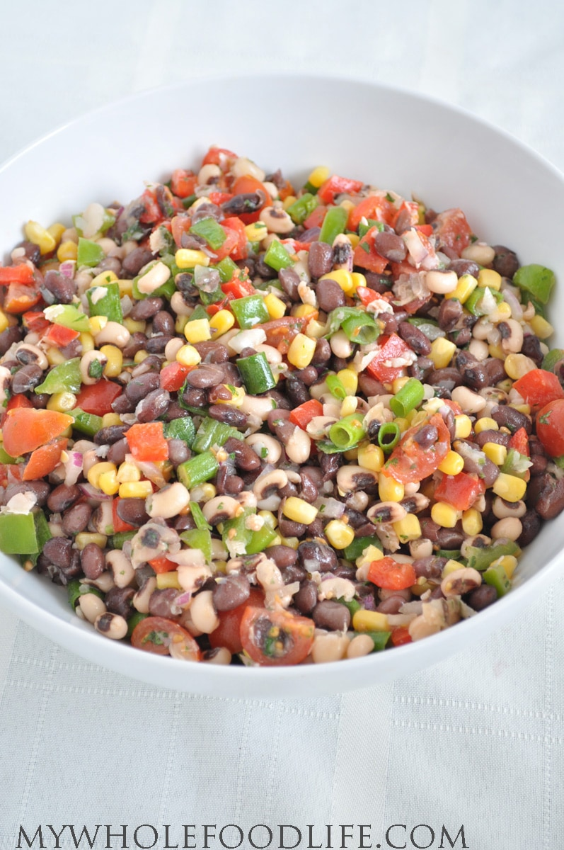 Healthy texas caviar vegan my whole food life a super healthy recipe that you will love forumfinder Choice Image