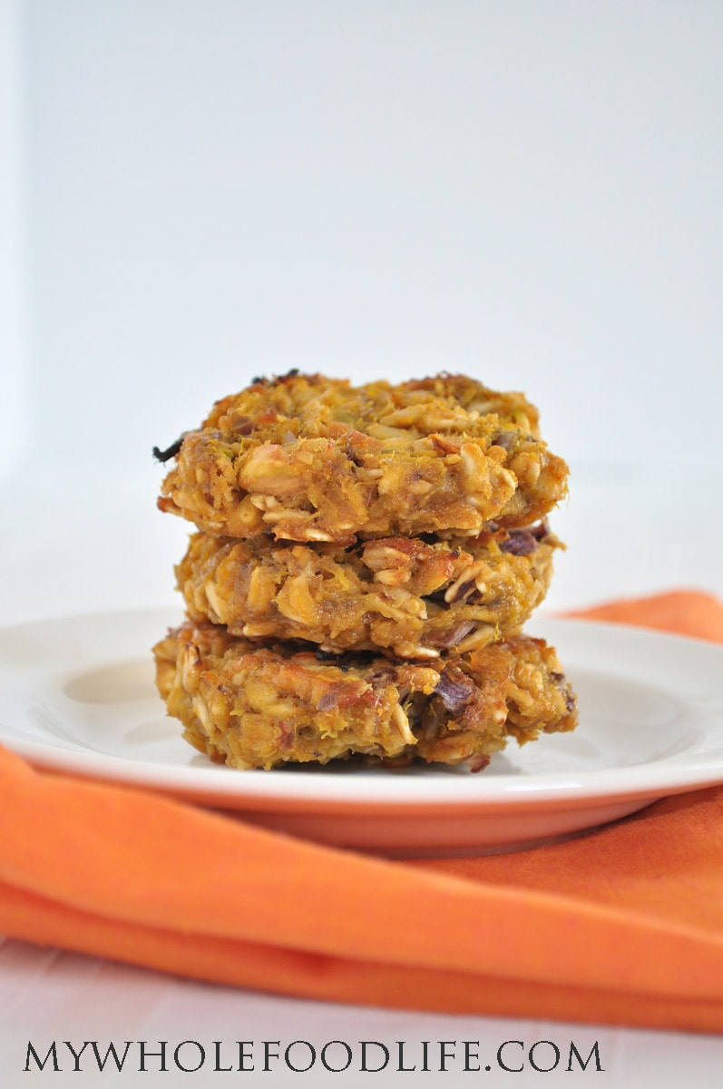Acorn Squash Veggie Burgers - My Whole Food Life