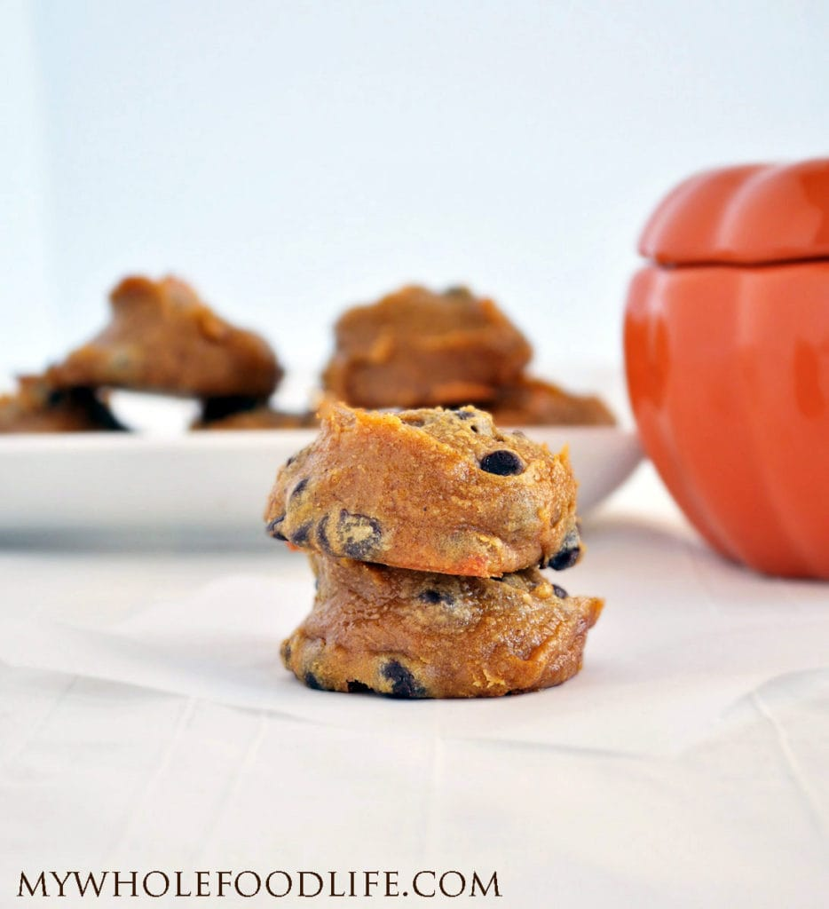 Flourless Pumpkin Cookies