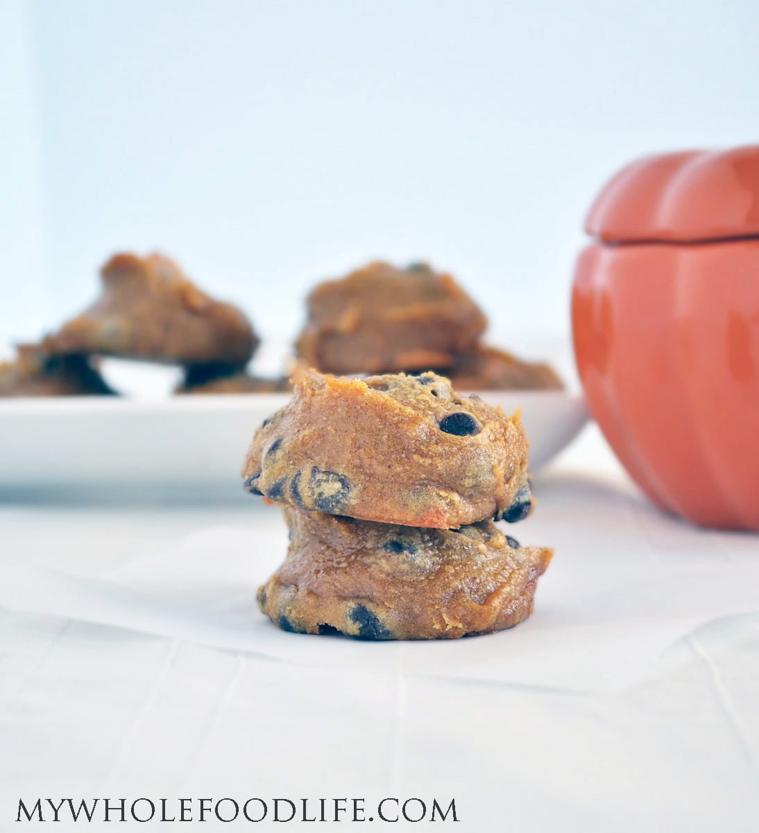 Flourless Pumpkin Cookies - My Whole Food Life
