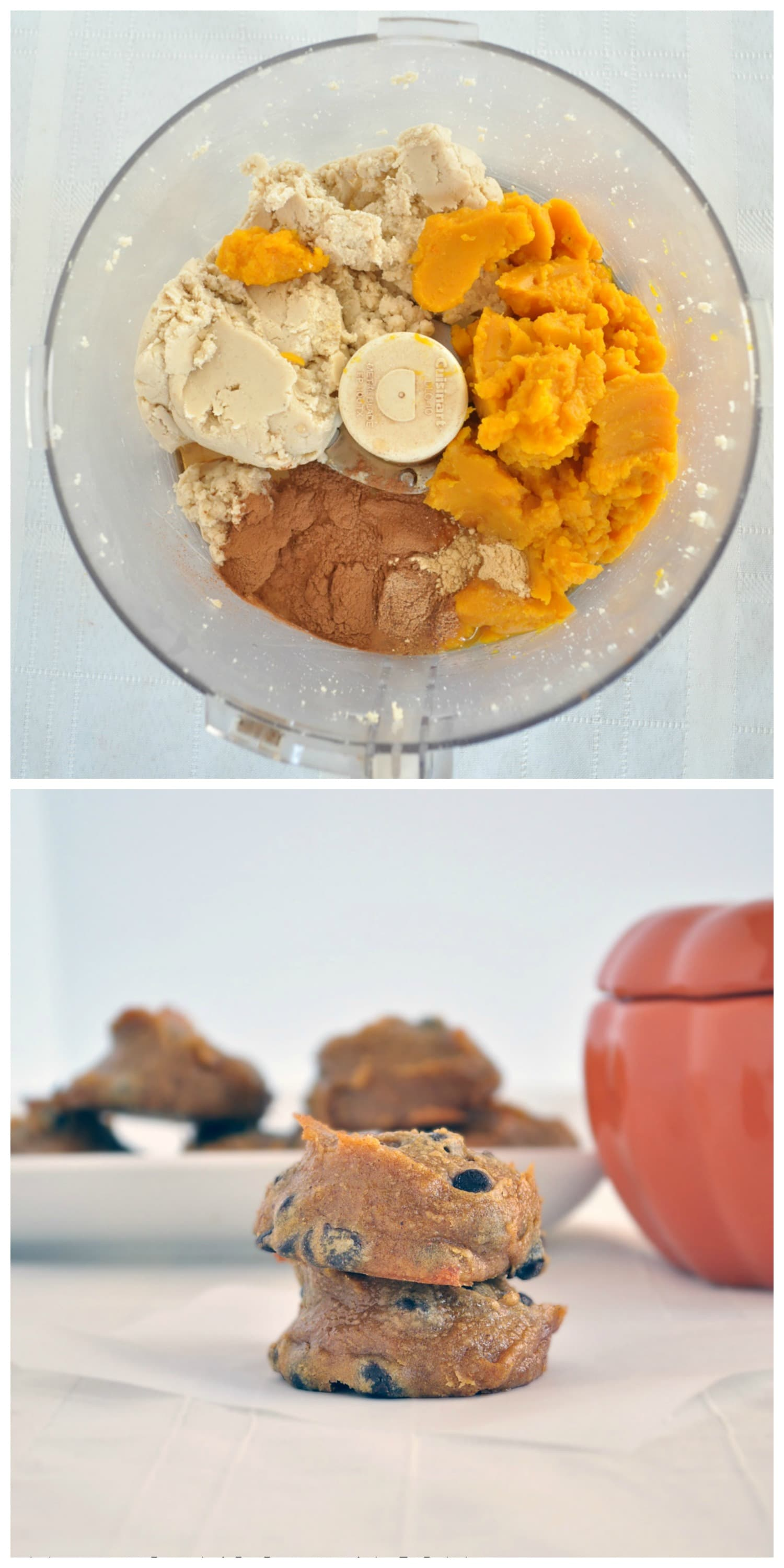 Flourless Pumpkin Cookies P